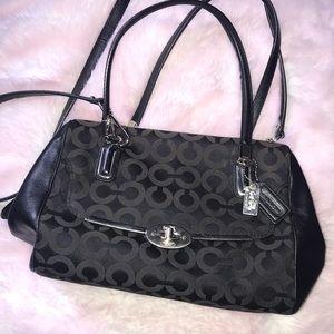black Coach doctor bag